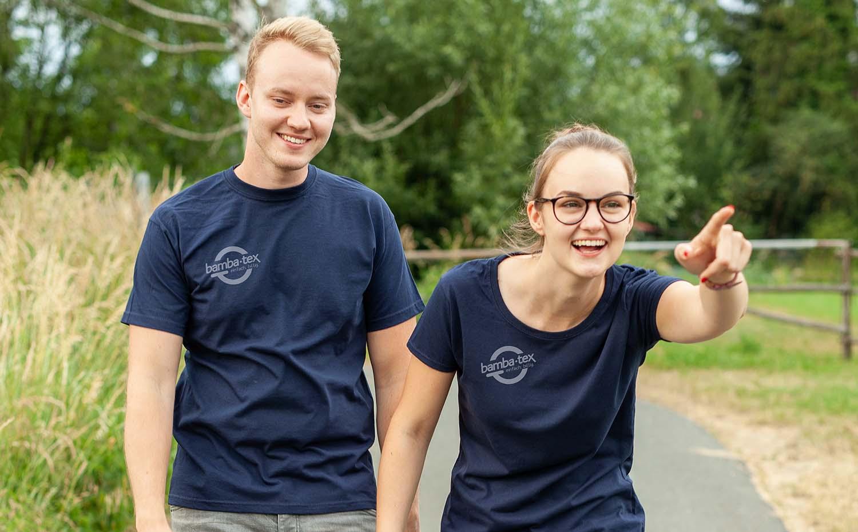 Original neuer Stil Kunden zuerst T-Shirt-Druck: günstig bei Bambatex